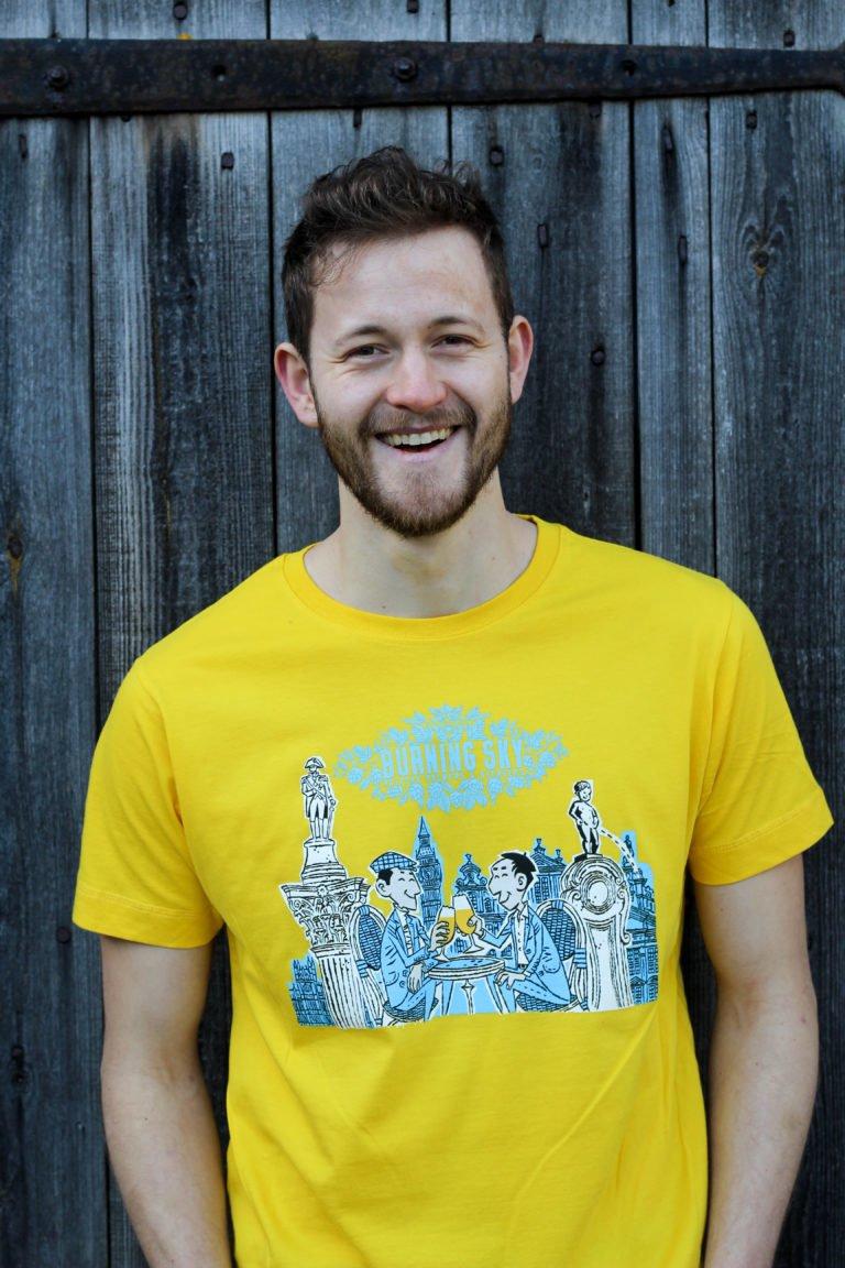 New Alliance t-shirt (yellow)