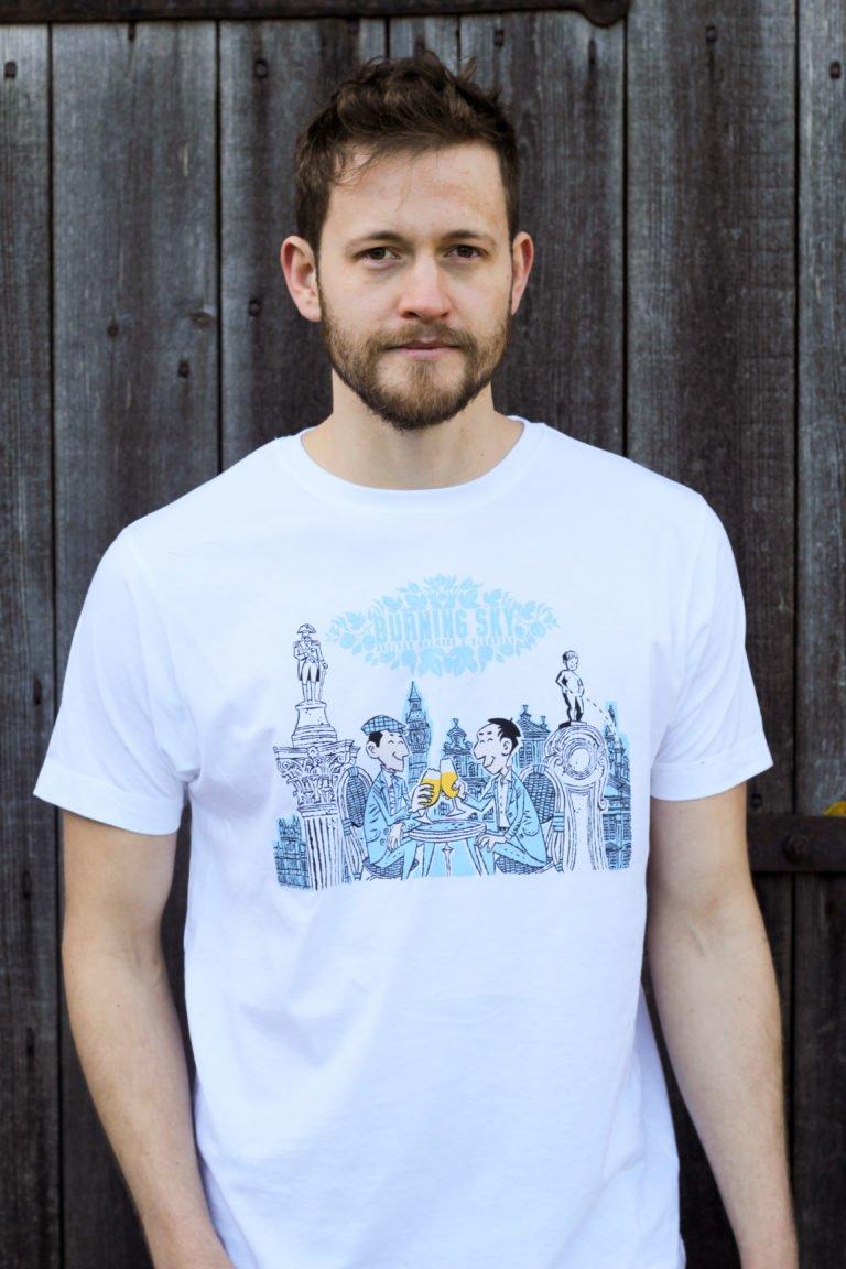 New Alliance t-shirt (white)