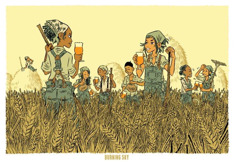 Giclée Print – A2 Harvest Time Artwork