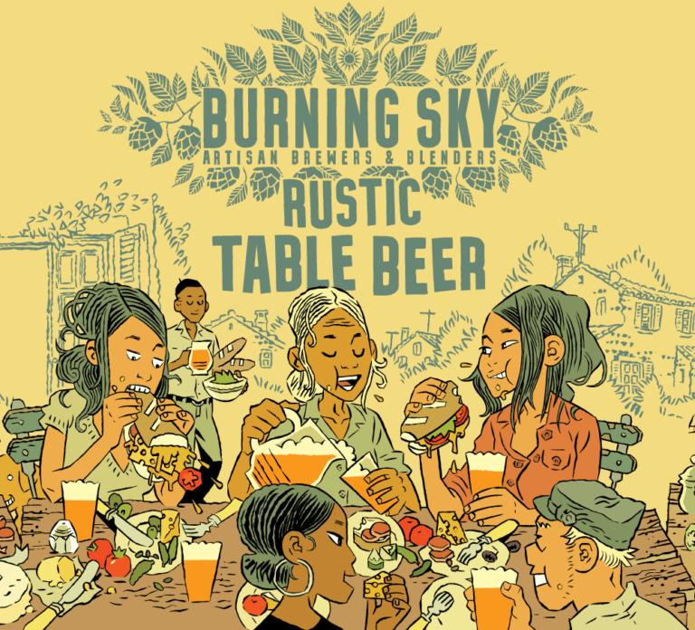 Rustic Table Beer